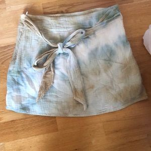 Free people dyed skirt